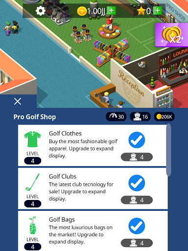 Idle Golf Club Manager Tycoon 0.9.0 screenshots 11