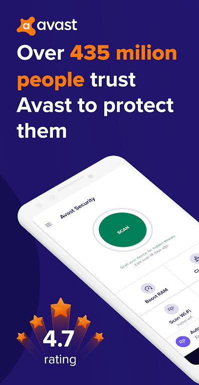 Avast Antivirus – Mobile Security & Virus Cleaner poster 0
