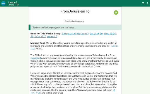 SDA Sabbath School Quarterly 5.0.231 Screenshots 12