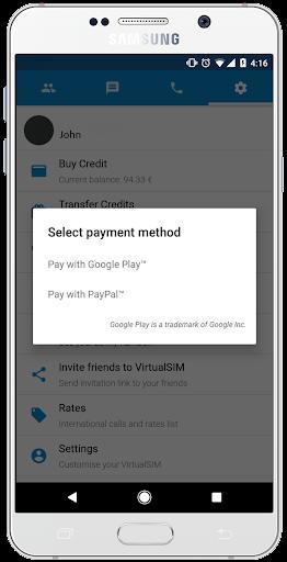 Virtual SIM  Screenshots 4