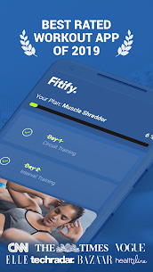 Fitify: Workout Routines & Training Plans Mod Apk v1.9.5 (Unlocked) 1