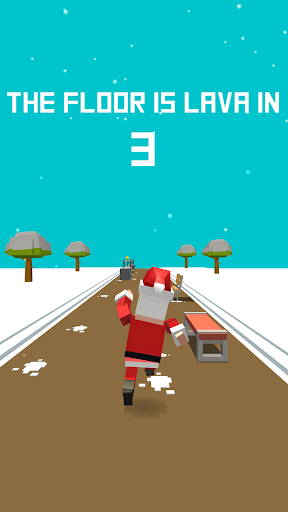 Xmas Floor is Lava !!! Christmas holiday fun ! apkpoly screenshots 3