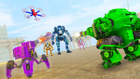 Grand Tornado Robot Car Transform: War Robot Games 1.3.5 Screenshots 24