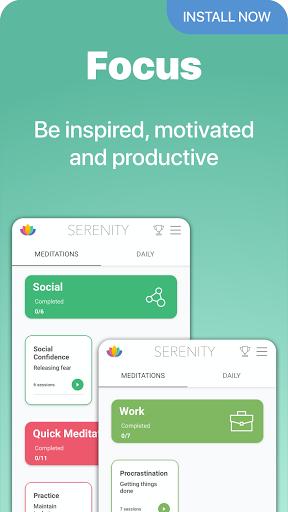 Serenity: Guided Meditation & Mindfulness 2.18.2 Screenshots 6