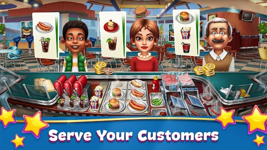 Cooking Fever Mod Apk (Unlimited Coins/Gems) Latest Version 2021 1