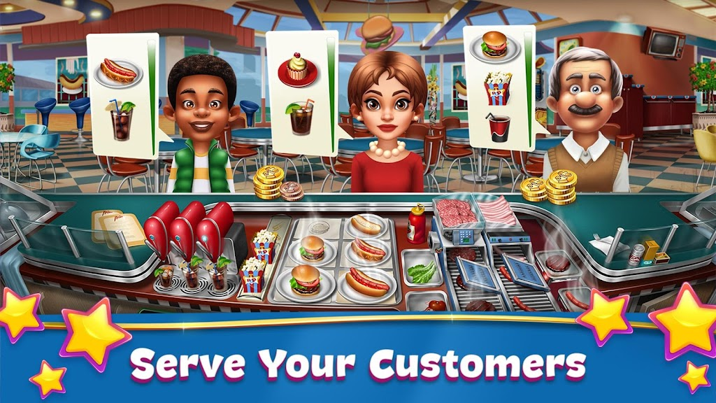 Cooking Fever: Restaurant Game poster 1