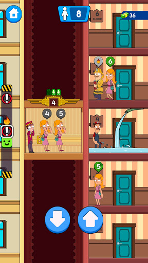 Hotel Elevator: Fun Simulator Concierge 1.1.6 screenshots 7