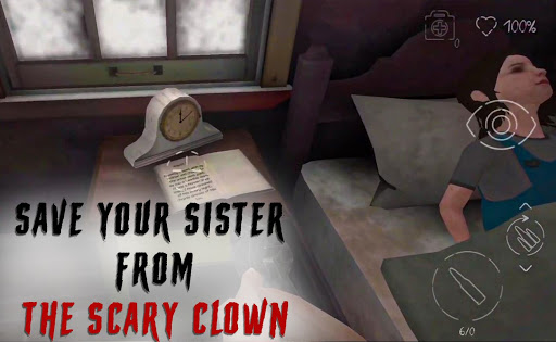 Scary Clown - Scary Escape Park Clown Game  screenshots 2