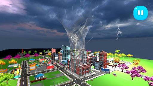 Tornado Rain and Thunder Sim  screenshots 2