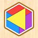 カラー図形パズル - 遊ぶ知育シリーズ - Androidアプリ