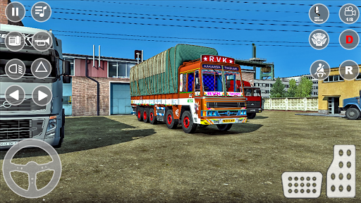Indian Truck Cargo Simulator 2020: New Truck Games android2mod screenshots 6