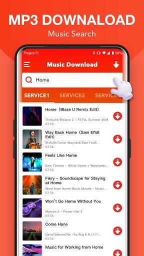 Free MP3 Sounds - Download Music MP3 apktram screenshots 1