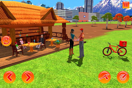 BMX Bicycle Pizza Delivery Boy 2019 2.0 screenshots 2