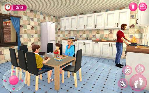 Virtual Family - Happy Life Dad Mom Simulator 2021 apktram screenshots 13