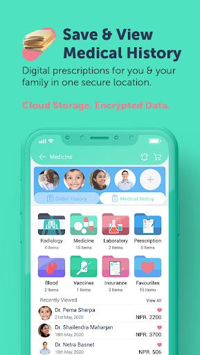 Jeevee - Nepalu2019s Trusted Pharmacy & Health App screenshots 5
