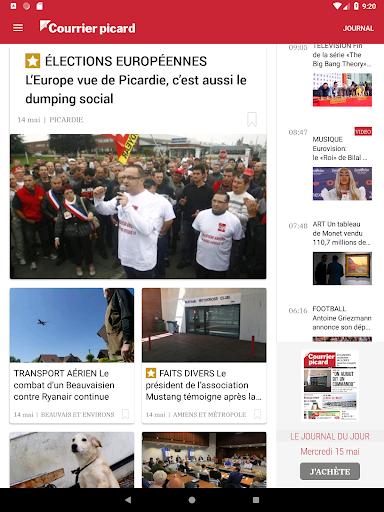 Courrier Picard : l'info locale, France et monde 5.19.2 screenshots 6