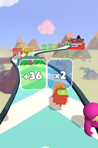 Flying Arrow Fest - Count Masters Brain Challenge  screenshots 14