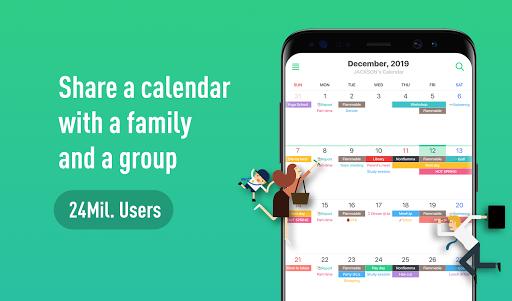 TimeTree - Free Shared Calendar  screenshots 1