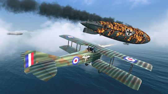 Warplanes: WW1 Sky Aces Mod Apk 1.4.2 (Unlimited Gold/Silver/Fuel) 2