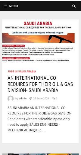 Gulf Jobs Today ;Gulf Jobs 2.0 screenshots 1