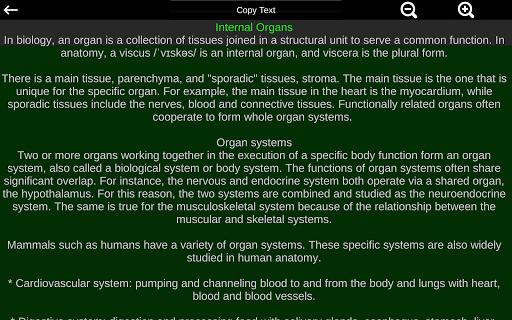 Internal Organs in 3D (Anatomy) 2.5 Screenshots 12