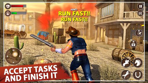 western cowboy action adventure: street gun fire screenshot 2