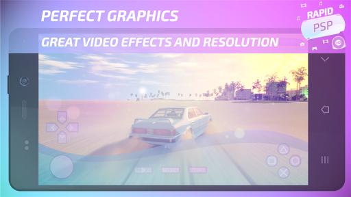 Rapid PSP Emulator for PSP Games 4.0 Screenshots 2