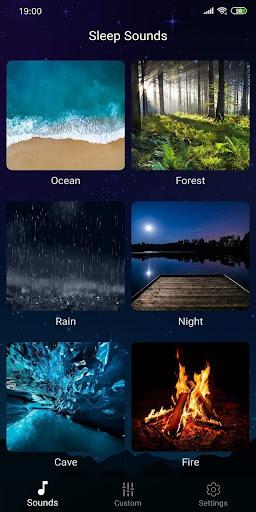 Sleep Sounds - Relax & Sleep, Relaxing sounds  Screenshots 6
