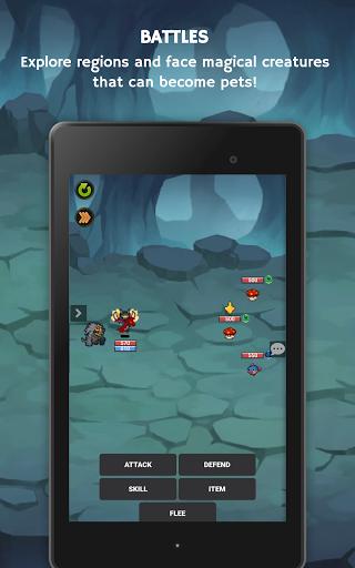 Mana Storia - Simple Browser MMORPG (Beta) 1.3 screenshots 18