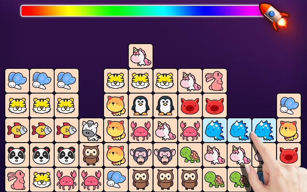 Match Animal-Free Tile master&Match Brain Game screenshot 16