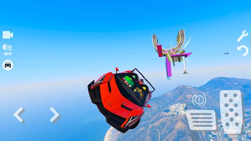 Spider Superhero Car Games: Car Driving Simulator apktram screenshots 12