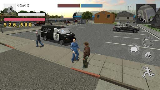 Police Cop Simulator. Gang War  Screenshots 5