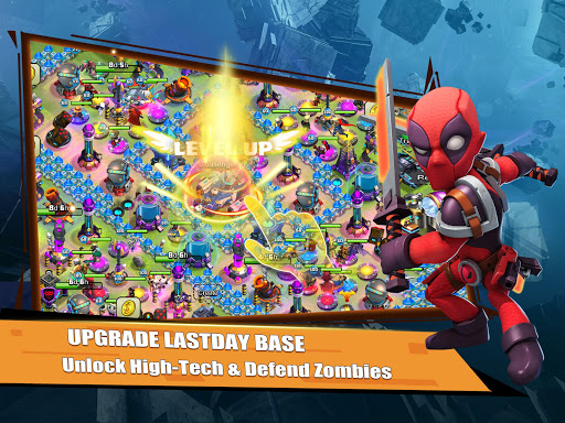 Rise of Superheroes:  Zombies Age - Empires Mobile screenshots 8