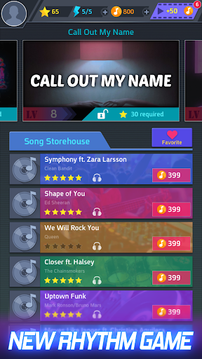 Tap Tap Music-Pop Songs 1.4.8 screenshots 1