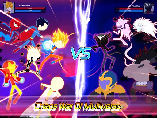 Super Stick Fight All-Star Hero: Chaos War Battle modavailable screenshots 17