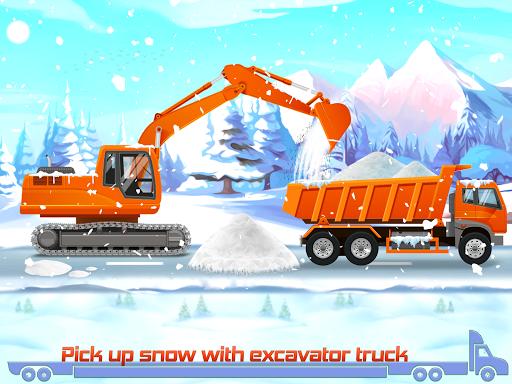 Kids Truck Games: Car Wash & Road Adventure android2mod screenshots 6
