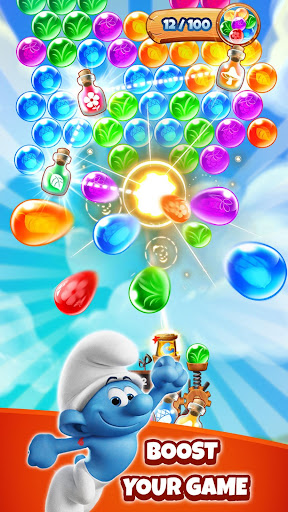 Smurfs Bubble Shooter Story 3.03.010207 pic 2