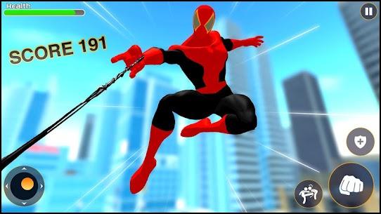 Strange Spider Hero: Miami Rope hero mafia Gangs 5