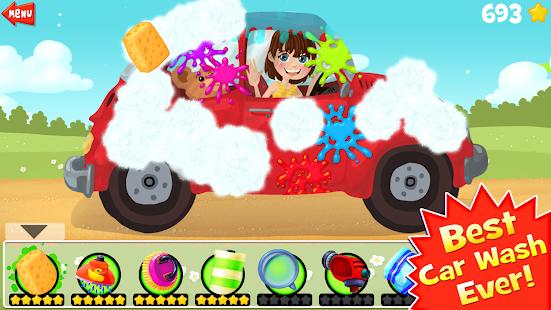 Amazing Car Wash For Kids FREE 3.3 screenshots 1