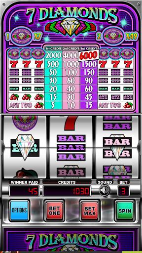 Seven Diamonds Deluxe : Vegas Slot Machines Games screenshots 3
