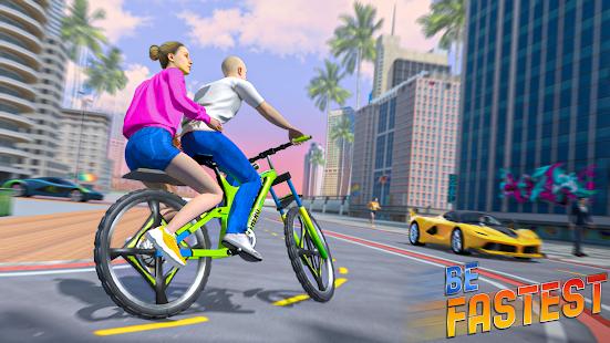 BMX Bicycle Taxi Driving City Passenger Simulator 1.2 Screenshots 3