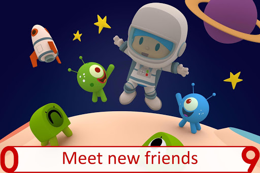Pocoyo 1, 2, 3 Space Adventure: Discover the Stars  screenshots 4