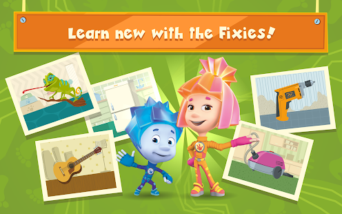 The Fixies: Preschool Educational Games for Kids