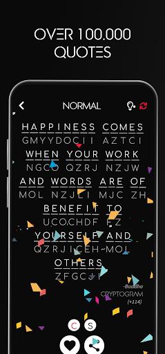 Cryptogram - Decrypt Quotes screenshots 11