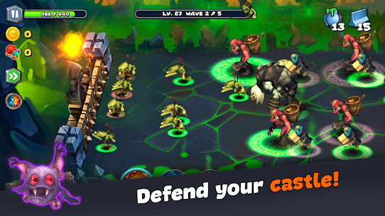 Magic Siege – Castle Defender MOD APK 1.8.42 (Unlimited Gold) 7
