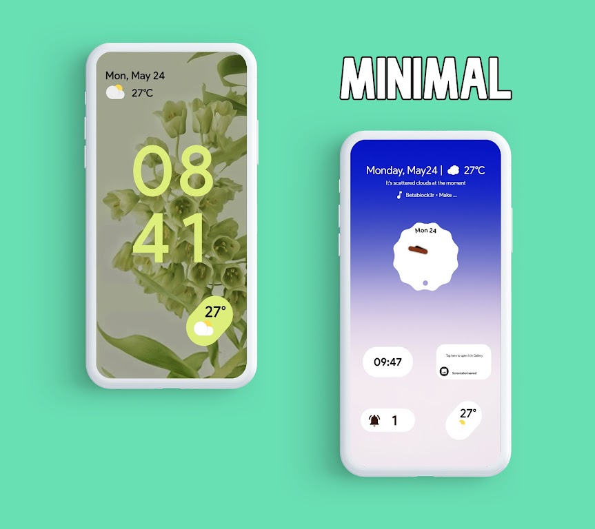 Android 12 Widgets KWGT  poster 1