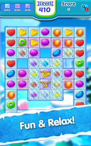 Code Triche Candy Ice Cream - Free Match 3 Game (Astuce) APK MOD screenshots 3