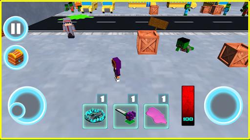 Monster school 3 Herobrine vs zombie apocalypse  screenshots 7
