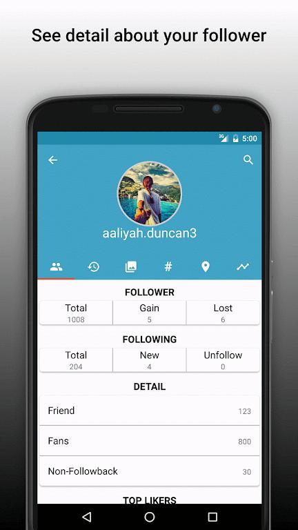 Follower Analyzer for Instagram poster 1