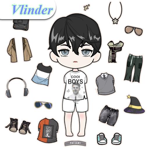Vlinder Boy: Dress up games